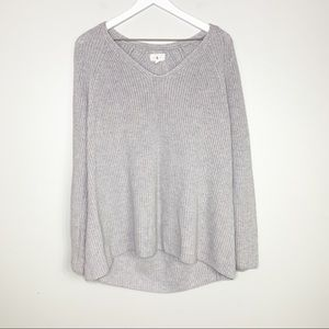 Lou & Grey Purple Knit Sweater XL
